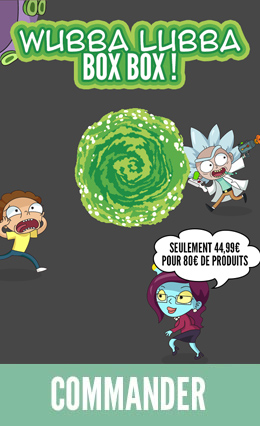 Hitek Box Rick & Morty