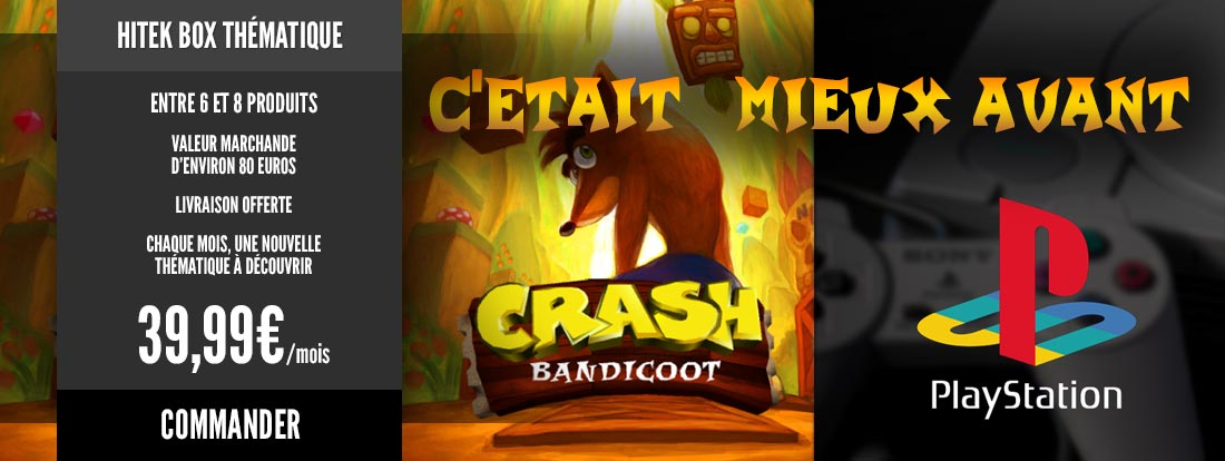 Spéciale Crash Bandicoot & Playstation